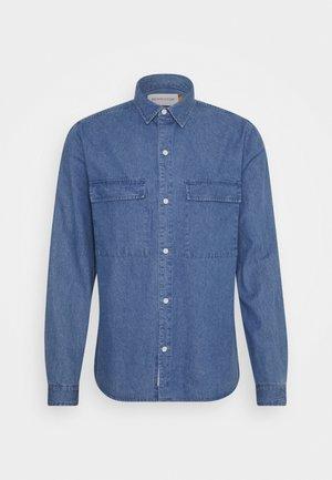 UTILITY SHIRT - Shirt - blue
