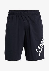 Under Armour - SPORTSTYLE WORDMARK LOGO - Sports shorts - black/white - 3