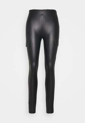 ONLMIRI CARGO LEGGING - Trousers - black