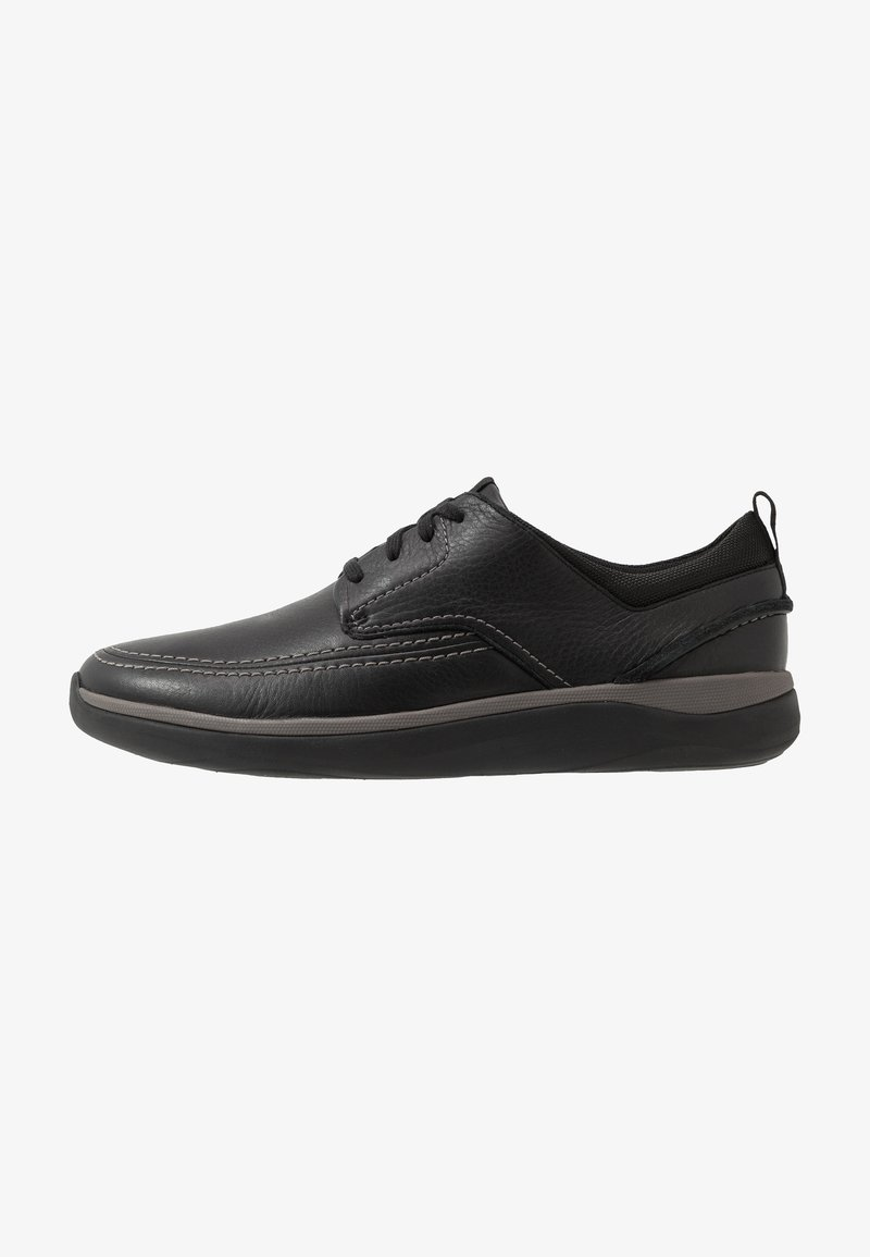 Clarks - GARRATT STREET - Zapatos con cordones - black