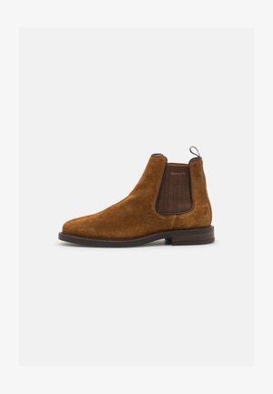 ST AKRON - Classic ankle boots - cognac
