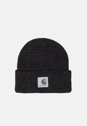 SHAWN BEANIE UNISEX - Adīta cepure - black/grey