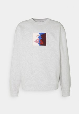 LIPS CREW - Sweatshirt - ash grey