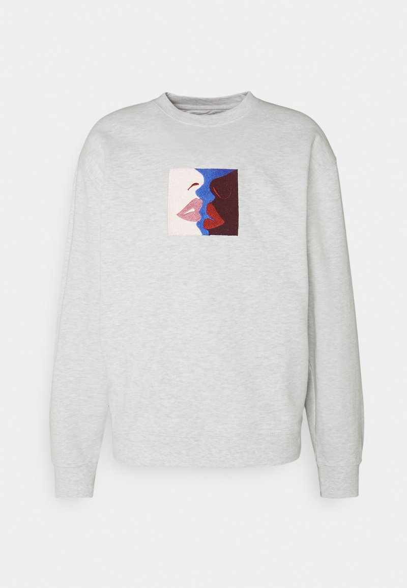 Obey Clothing - LIPS CREW - Sweatshirt - ash grey