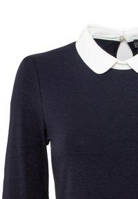 HALLHUBER - MIT BUBIKRAGEN AUS LENZING™-ECOVER - T-shirt à manches longues - dunkelblau - 4