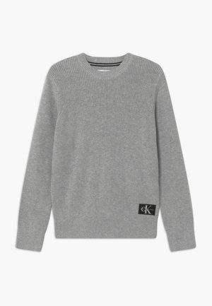 OCO REGULAR CREW - Strikkegenser - grey