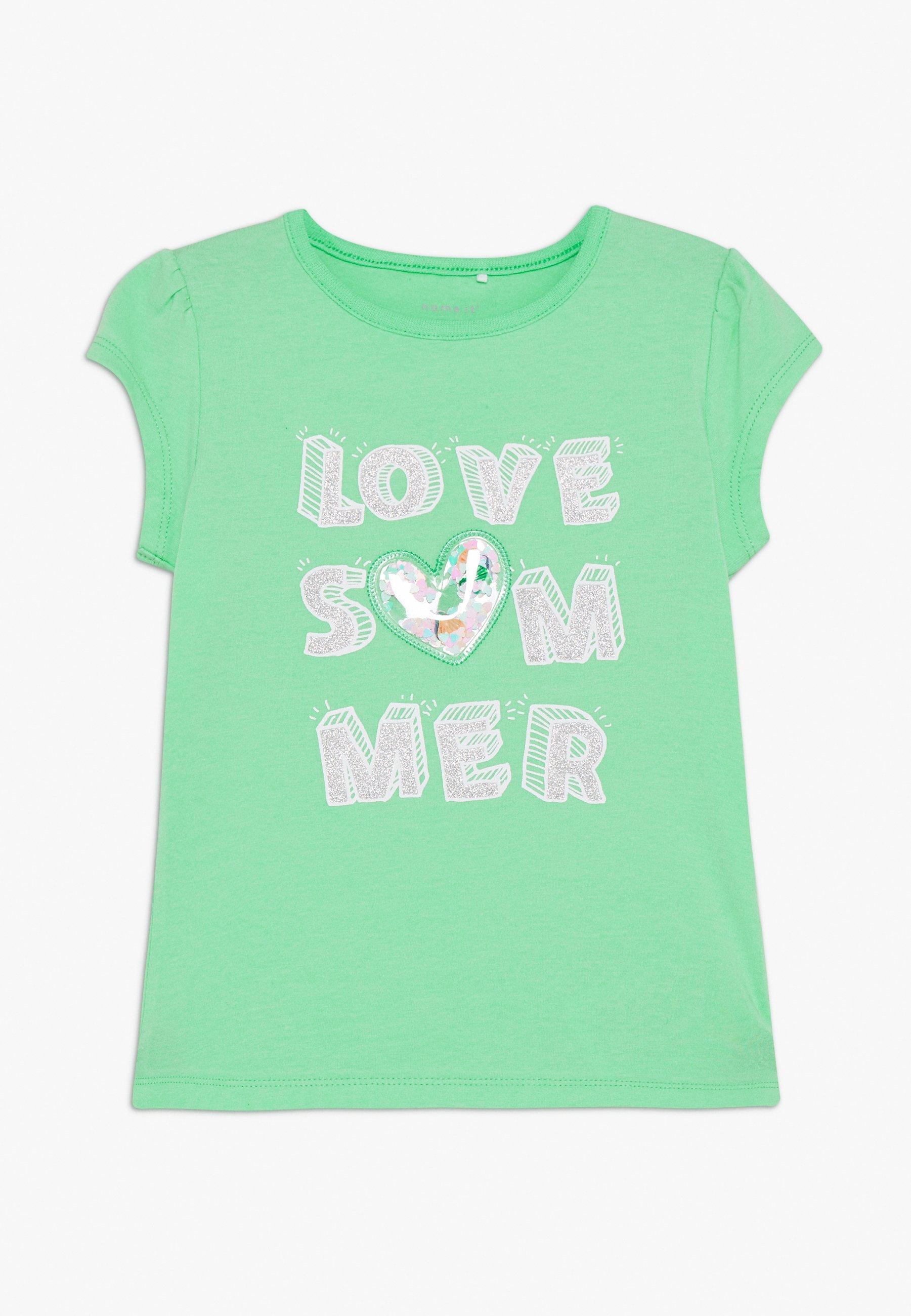 Kids NMFHAPINA BOX - Print T-shirt