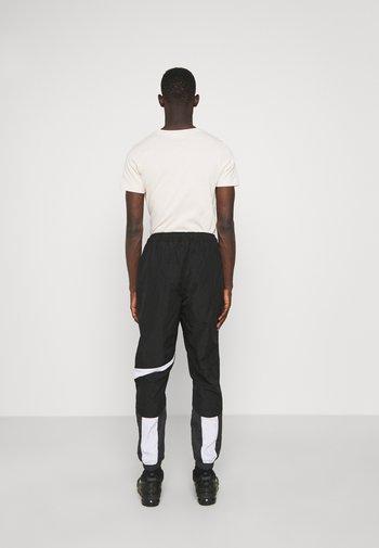 PANT - Träningsbyxor - black/anthracite/white