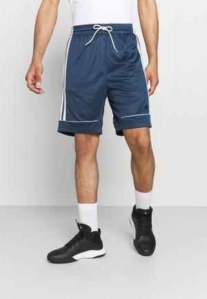 ALL WORLD BASKETBALL PRO AEROREADY PRIMEGREEN SHORTS - Sports shorts - crew navy white