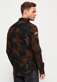 Superdry - MILITARY STORM - Shirt - brown - 2
