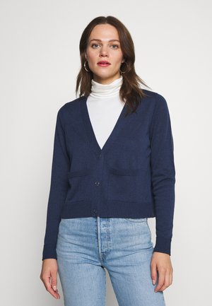 HILLERI - Cardigan - ink blue