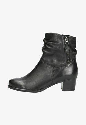 Korte laarzen - black soft