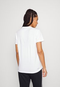 adidas Performance - T-shirts med print - white/black - 2