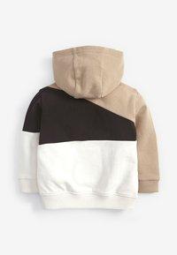Next - Zip-up hoodie - beige - 1