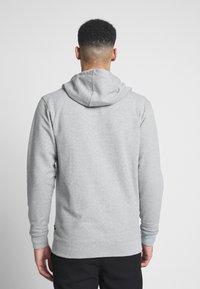 Vans - MN VANS CLASSIC ZIP HOODIE II - Zip-up hoodie - cement heather/black - 2