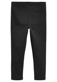 Next - Kalhoty - mottled black - 1