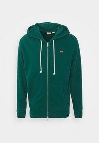 Levi's® - NEW ORIGINAL ZIP UP - veste en sweat zippée - greens - 0