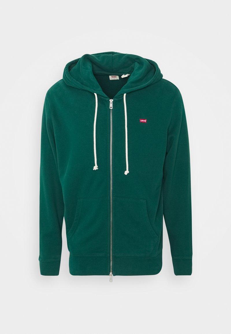 Levi's® - NEW ORIGINAL ZIP UP - Zip-up sweatshirt - greens