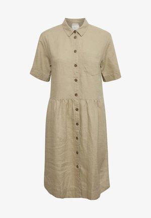 Shirt dress - incense