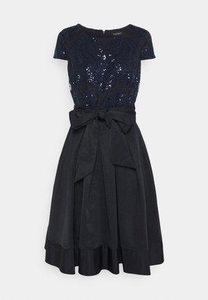 ZIARAH CAP SLEEVE DRESS - Cocktail dress / Party dress - lighthouse navy