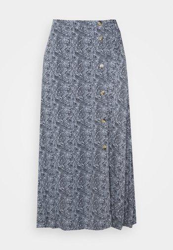 BELLA SKIRT - A-line skirt - dark blue