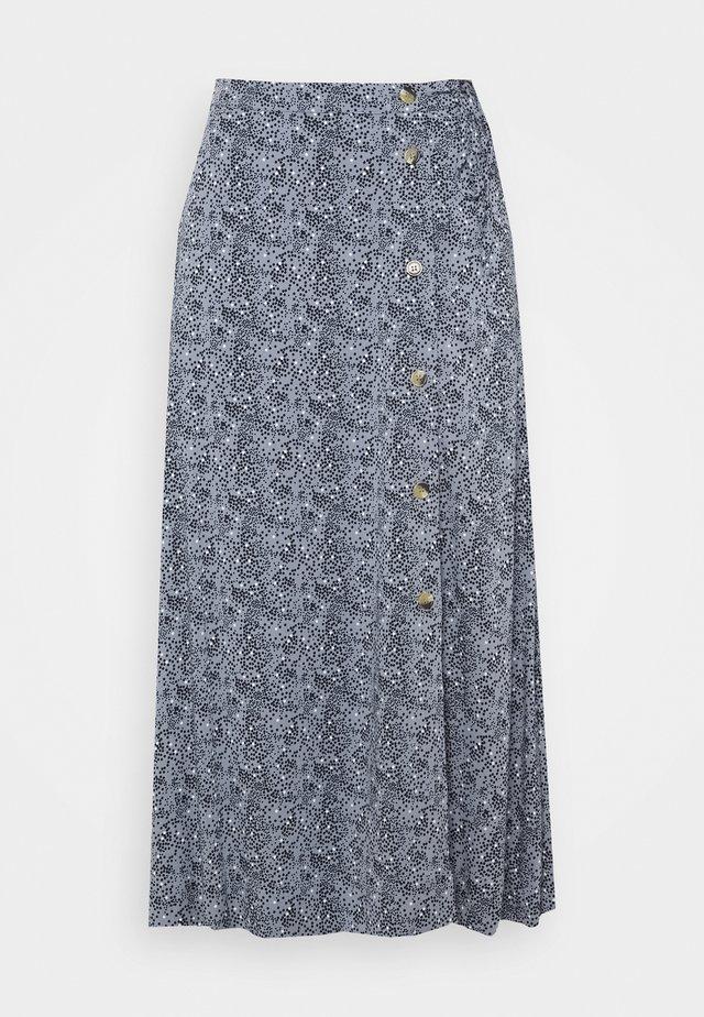 BELLA SKIRT - Áčková sukně - dark blue