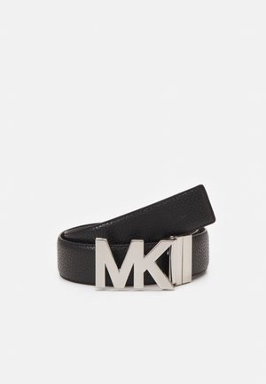 LOGO - Belt - black/choc