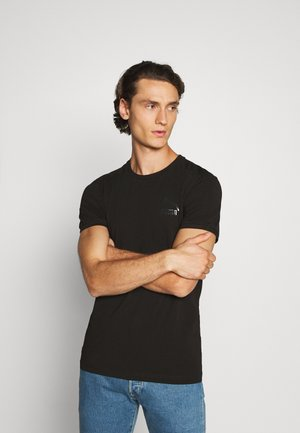 ICONIC SLIM - Sports shirt - black