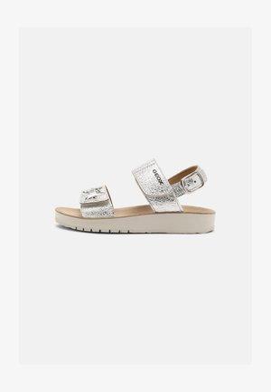 COSTAREI - Sandals - silver