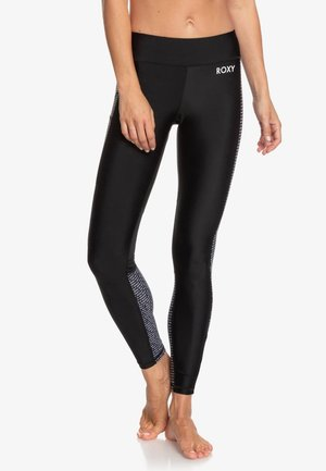 ROXY™ SPY GAME - 7/8-FITNESS-LEGGINGS FÜR FRAUEN ERJNP03279 - Medias - true black world wide