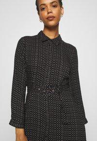 YAS - YASSAVANNA BELT ANKLE DRESS - Maxi dress - black/light taupe - 5