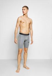 Nike Performance - SHORT LONG - Punčochy - smoke grey/light smoke grey/black - 1
