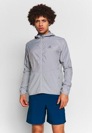 AGILE HOODIE - Outdoor jacket - alloy