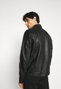 Schott - BIKER - Leather jacket - black - 2