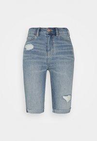 Marks & Spencer London - Jeansshorts - light-blue denim - 0