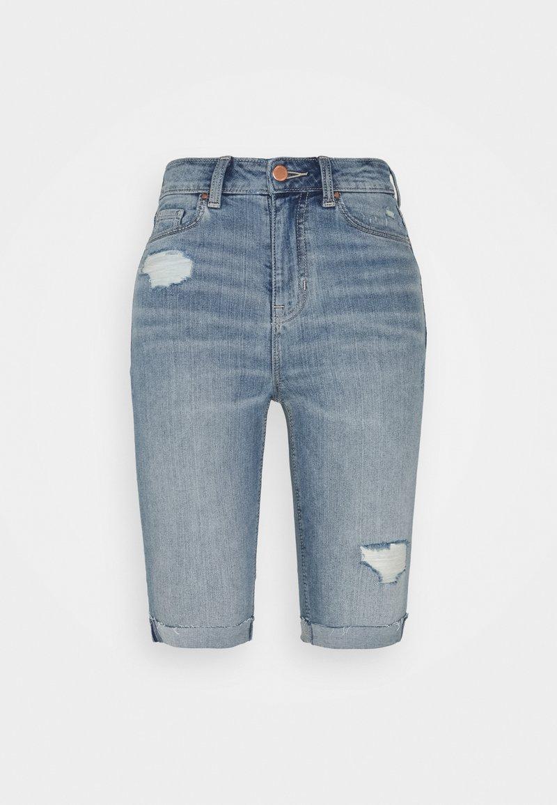 Marks & Spencer London - Jeansshorts - light-blue denim