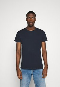 Burton Menswear London - SHORT SLEEVE CREW 7 PACK - T-Shirt basic - black - 4