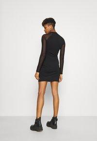 Even&Odd - Pouzdrové šaty - black - 2