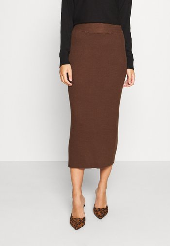 LULU ASTRID SKIRT - Pencil skirt - beige