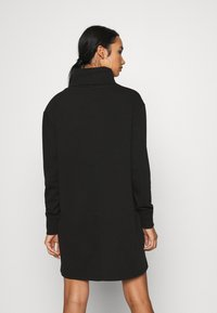 Tommy Jeans - BADGE MOCK NECK DRESS - Day dress - black - 2