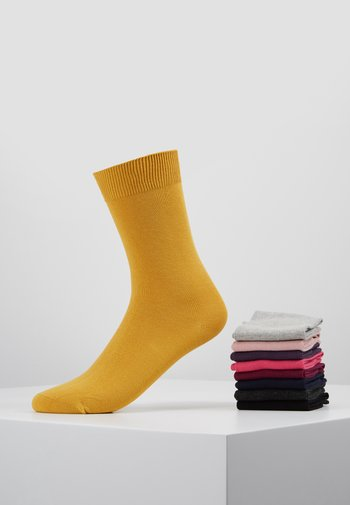 ONLINE SOCKS 9 PACK UNISEX - Socks - chalk mix