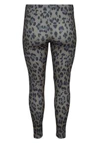 Zizzi - Leggings - Trousers - grey - 5