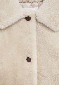 Mango - WOODI - Winter coat - écru - 8