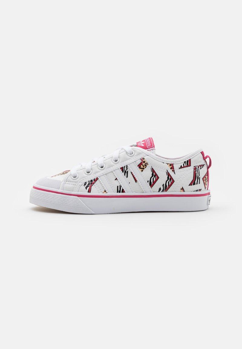 adidas Originals - NIZZA UNISEX - Zapatillas - footwear white/wild pink