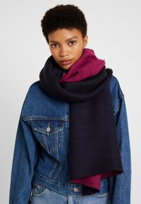 Fraas - Scarf - dark navy - 0