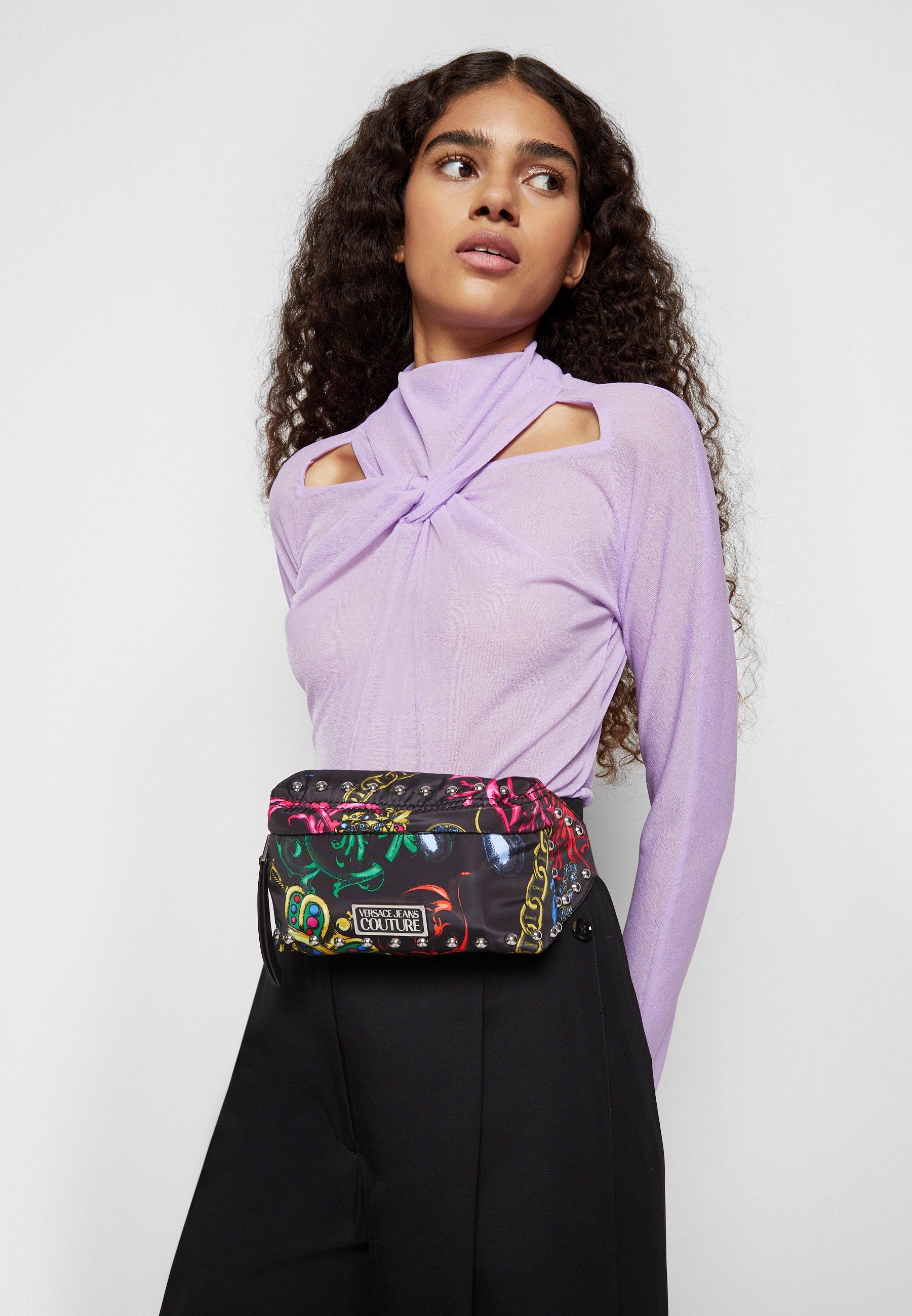 Women PRINTED NYLON ROCK STUDS BELTBAG - Bum bag
