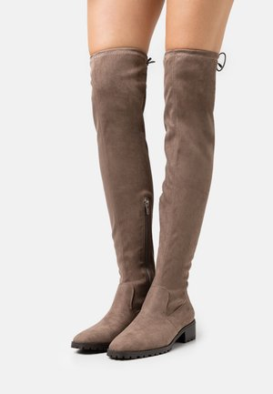 BASIC PROFILE SOLE - Over-the-knee boots - brown