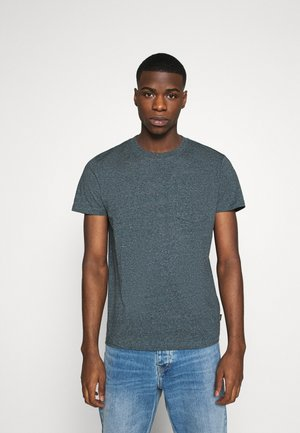 SLIM FIT - T-shirt - bas - grey/blue