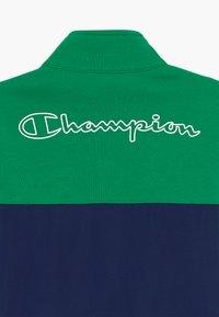 Champion - LEGACY 90'S BLOCK FULL ZIP  - Veste de survêtement - green/blue - 4