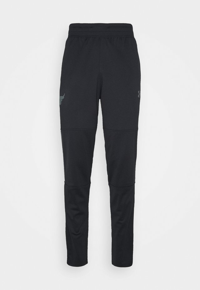 ROCK TRACK PANT - Teplákové kalhoty - black